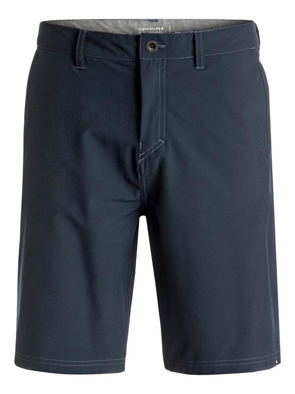 "0 Solid Amphibian 21"" Amphibian Shorts Blue EQYWS03366 Quiksilver"