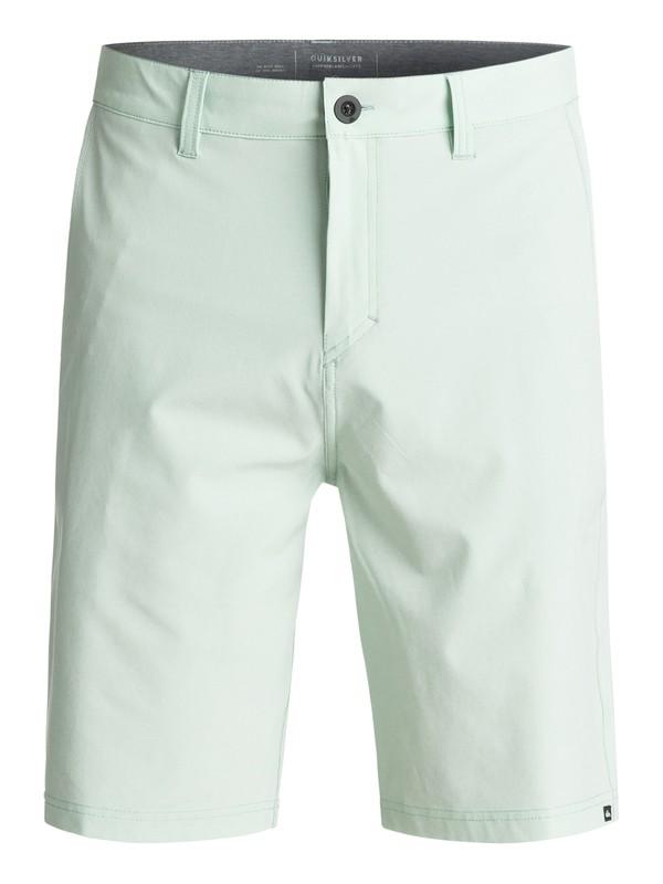 "0 Solid Amphibian 21"" Amphibian Shorts Green EQYWS03366 Quiksilver"