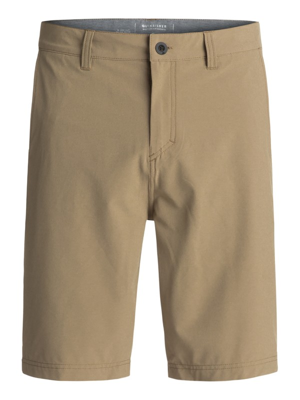 "0 Solid Amphibian 21"" Amphibian Shorts Beige EQYWS03366 Quiksilver"
