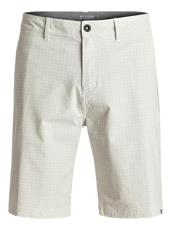 "0 Neolithic Amphibian 21"" Amphibian Shorts White EQYWS03369 Quiksilver"