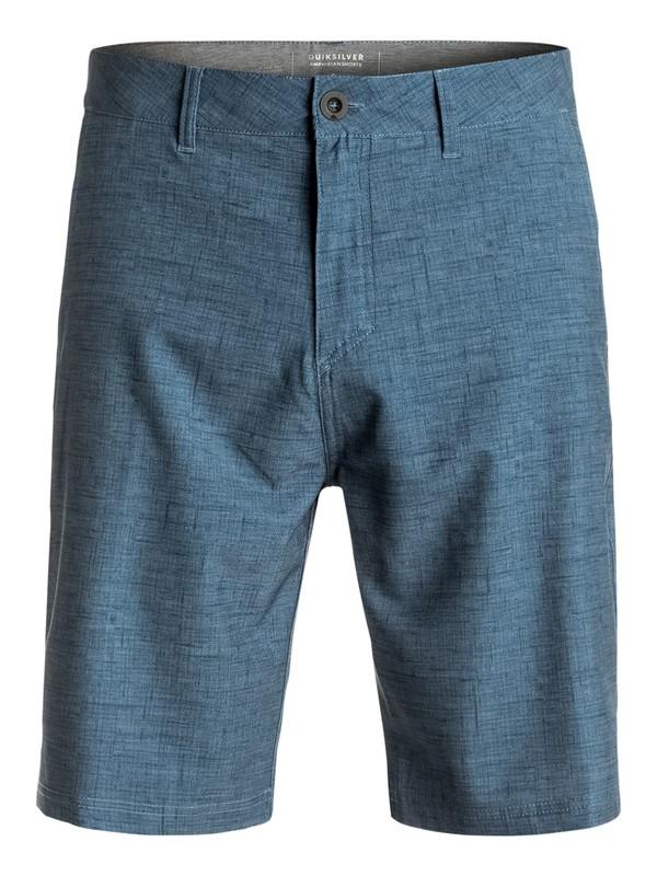 "0 Platypus Amphibian 21"" Amphibian Shorts Blue EQYWS03372 Quiksilver"