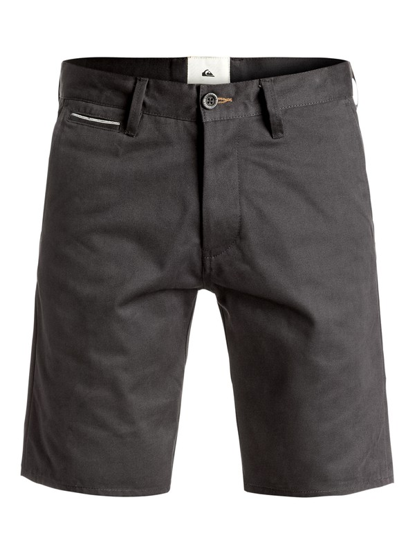 "0 The Selvedge 19"" - Short Noir EQYWS03375 Quiksilver"