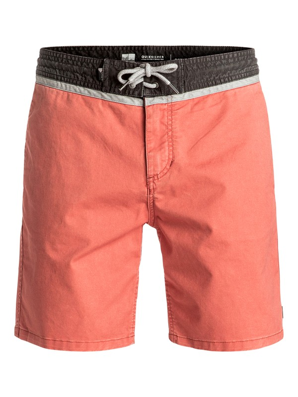 "0 Street Vee 18"" - Short type boardshort Orange EQYWS03401 Quiksilver"