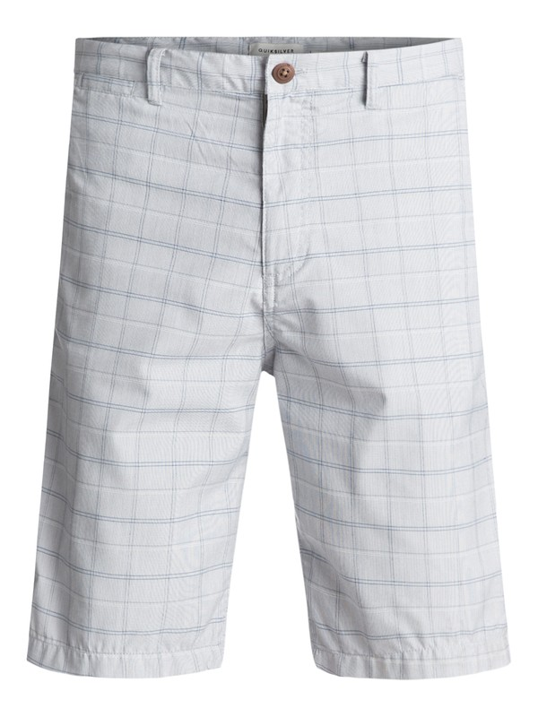 0 Regeneration Chino Shorts Grey EQYWS03425 Quiksilver