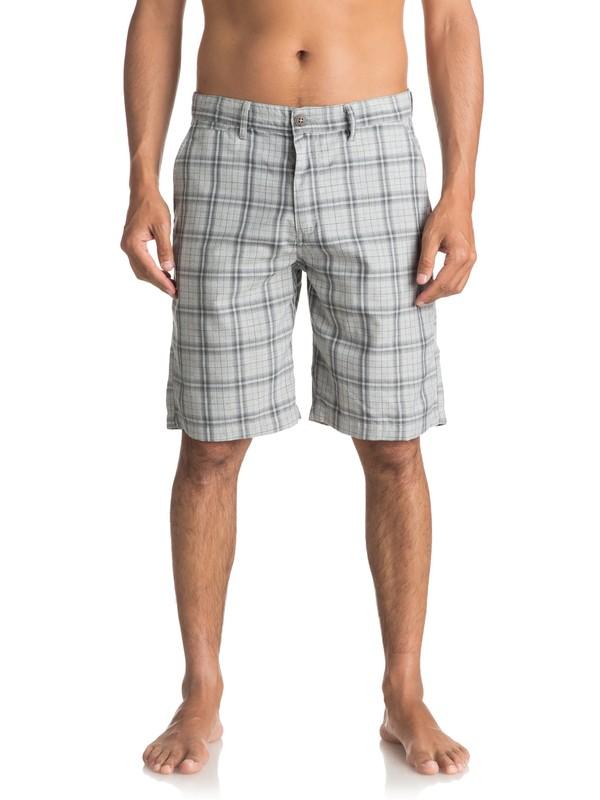 0 Regeneration Chino Shorts Grey EQYWS03425 Quiksilver