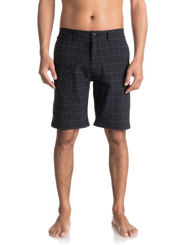 "0 Union Amphibian 21"" Amphibian Shorts Black EQYWS03431 Quiksilver"