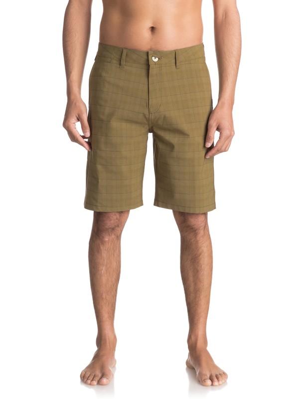 "0 Union Amphibian 21"" Amphibian Shorts Beige EQYWS03431 Quiksilver"