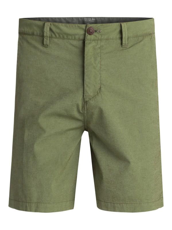 """0 Echo Surfwash Amphibian 18"""" Amphibian Shorts Green EQYWS03432 Quiksilver"""