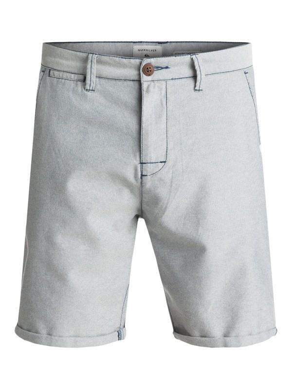 0 Krandy Oxford Chino Shorts Blue EQYWS03448 Quiksilver