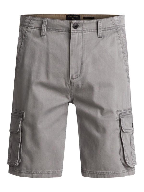 0 Everyday Deluxe Cargo Shorts Black EQYWS03454 Quiksilver