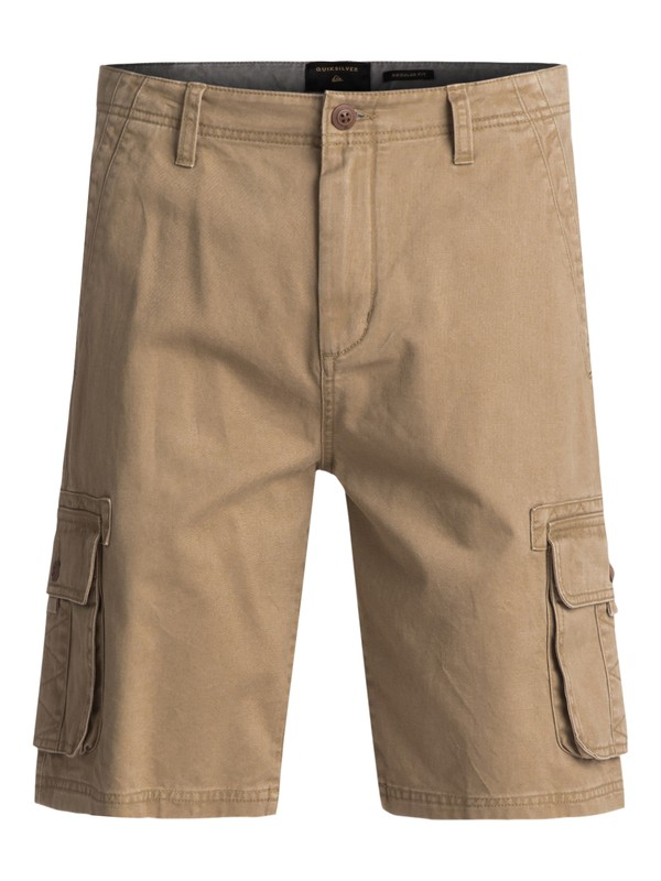 0 Everyday Deluxe Cargo Shorts Beige EQYWS03454 Quiksilver