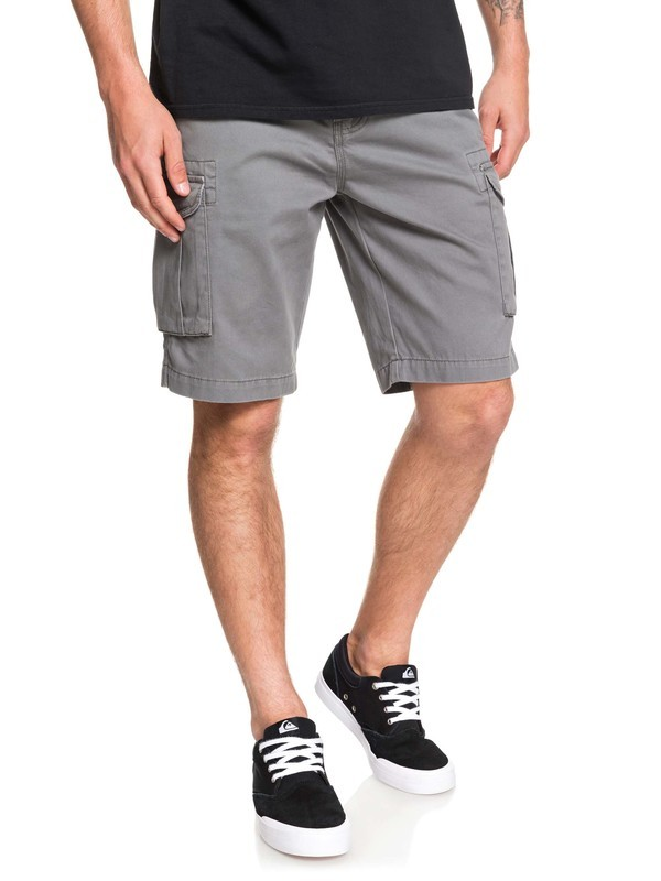 0 Men's Crucial Battle Cargo Shorts Black EQYWS03456 Quiksilver