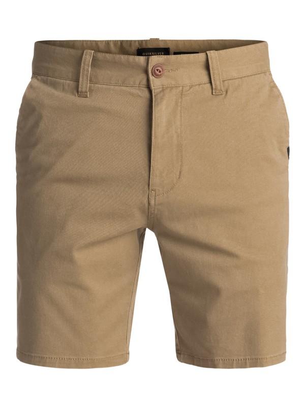 0 Spratt Chino Shorts Beige EQYWS03460 Quiksilver