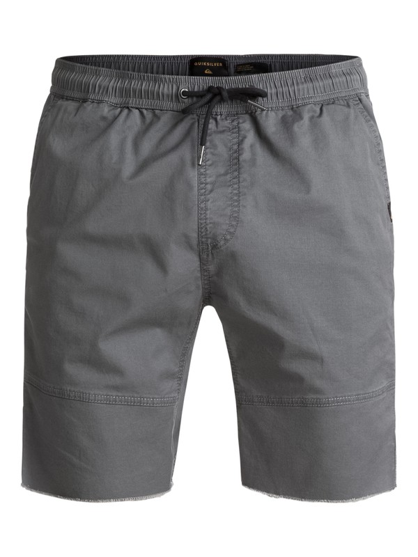 0 Foxoy Straight Tapered Fit Shorts Black EQYWS03461 Quiksilver