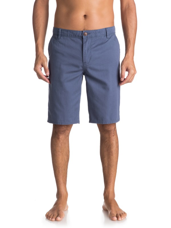0 Everyday Light Chino Shorts Blue EQYWS03468 Quiksilver