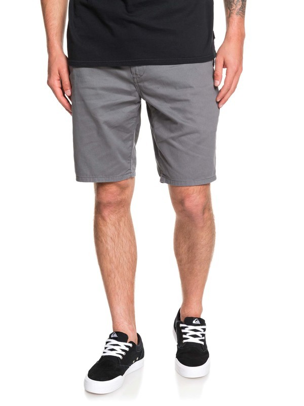 0 Everyday Light Chino Shorts Black EQYWS03468 Quiksilver