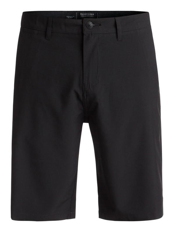 "0 Union 21"" Amphibian Shorts Black EQYWS03491 Quiksilver"