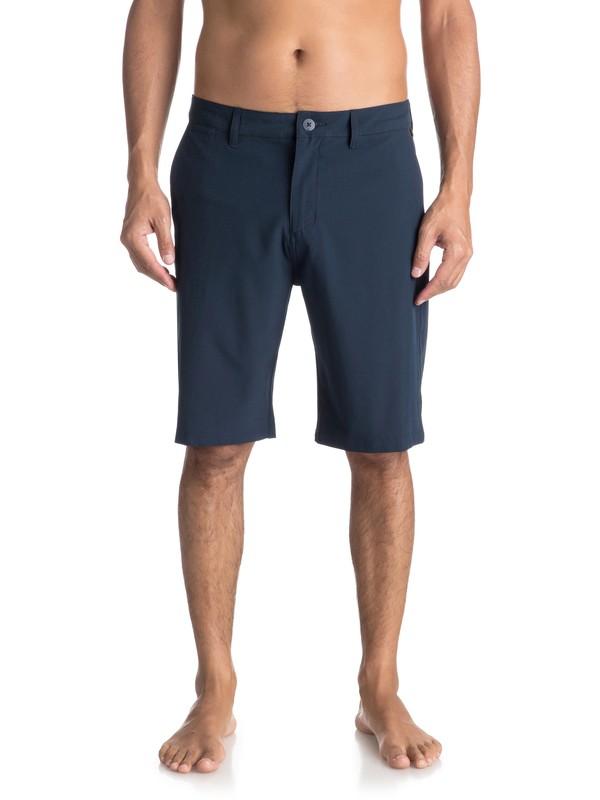 """0 Union 21"""" - Amphibian Shorts Blue EQYWS03491 Quiksilver"""