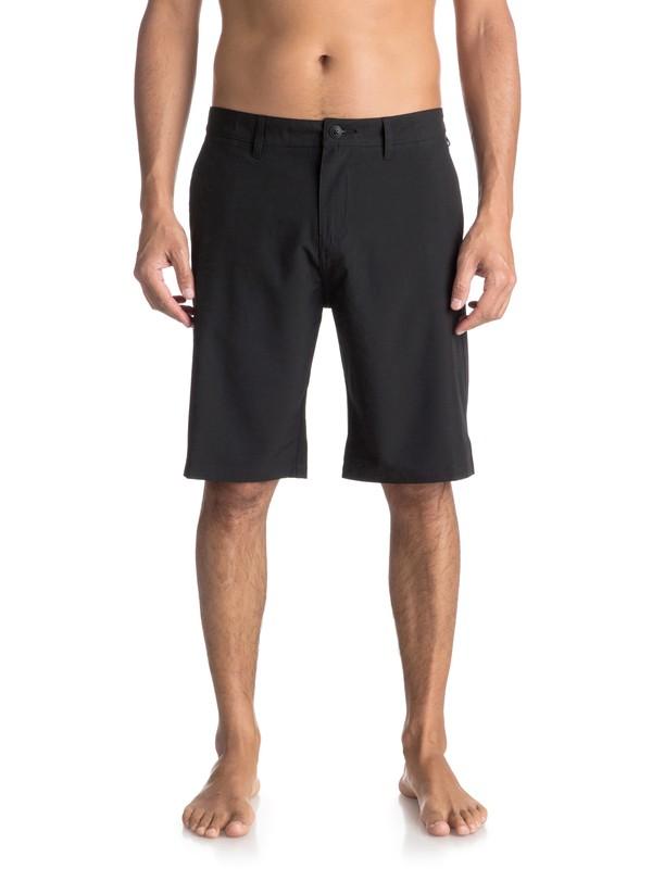 "0 Union 21"" - Amphibian Shorts Black EQYWS03491 Quiksilver"