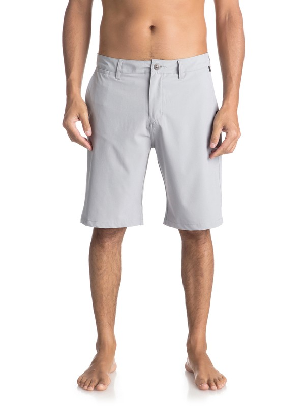 "0 Union 21"" - Amphibian Shorts Grey EQYWS03491 Quiksilver"