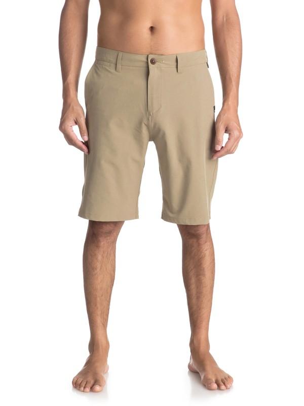 """0 Union 21"""" - Amphibian Shorts Beige EQYWS03491 Quiksilver"""