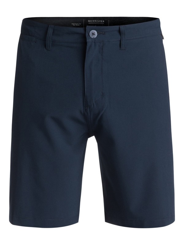 """0 Union 19"""" - Board Shorts Anfibio Azul EQYWS03492 Quiksilver"""