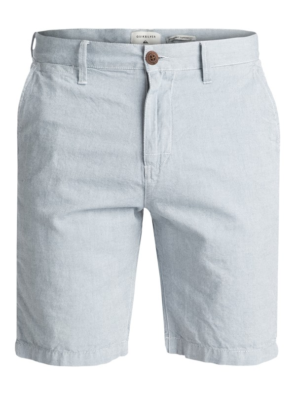 0 Krandy Oxford Chino Shorts Blue EQYWS03502 Quiksilver