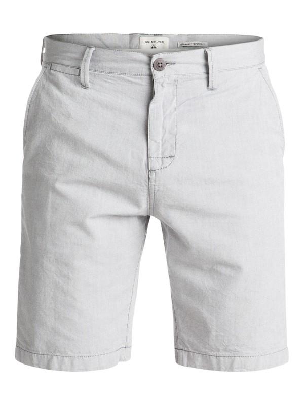 0 Krandy Oxford Chino Shorts Black EQYWS03502 Quiksilver