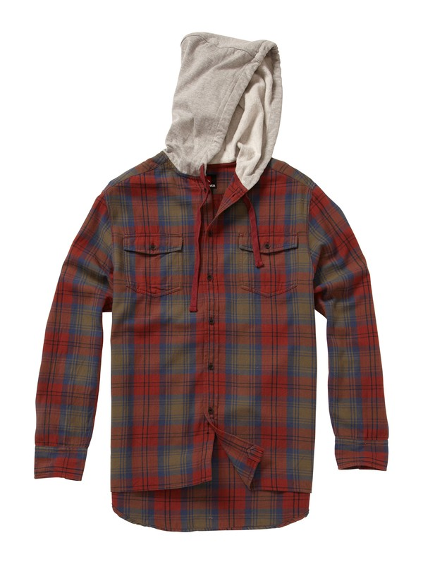 0 Wildhorn Hooded LS Shirt  EQYWT00020 Quiksilver