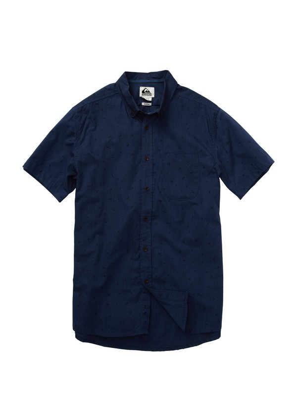 0 Dead Chest Short Sleeve Shirt  EQYWT00070 Quiksilver