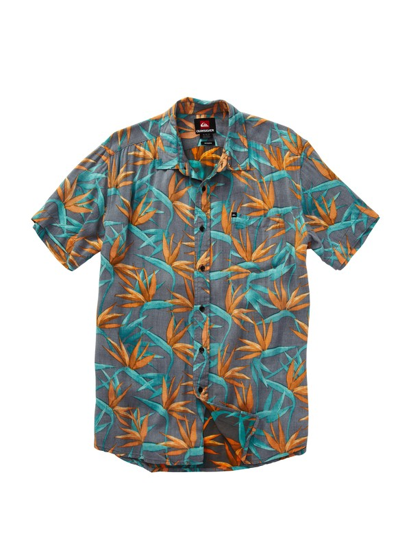 0 Paradise Bay Short Sleeve Shirt  EQYWT00071 Quiksilver