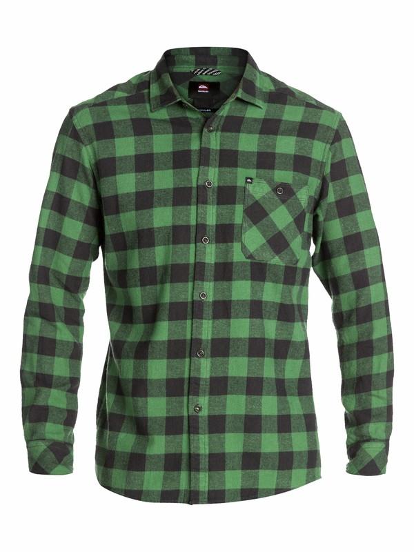 0 Gulls Long Sleeve Flannel Shirt  EQYWT03005 Quiksilver