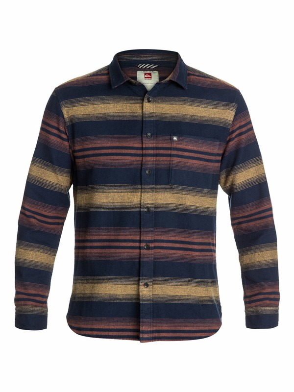 0 Skua Slim Fit Long Sleeve Flannel Shirt  EQYWT03008 Quiksilver