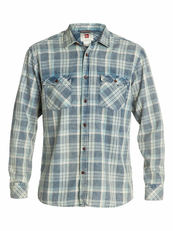 0 Tang Long Sleeve Flannel Shirt  EQYWT03011 Quiksilver