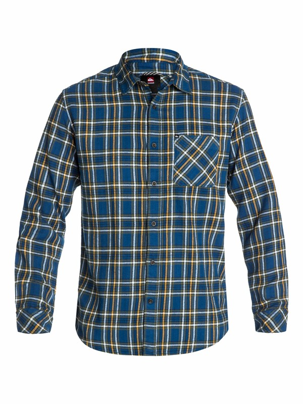 0 Charad Flannel Long Sleeve Shirt  EQYWT03070 Quiksilver