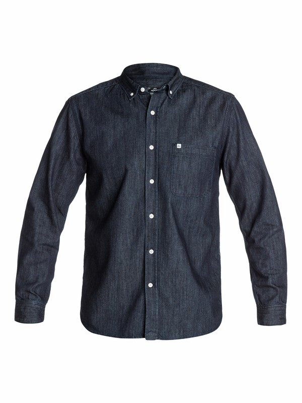 0 Gadfly Denim Long Sleeve Shirt  EQYWT03088 Quiksilver