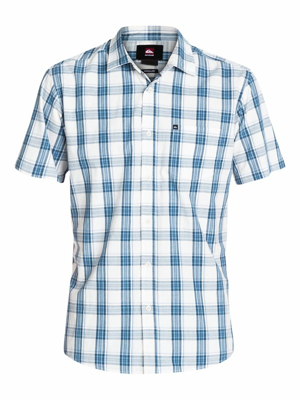 0 Everyday Check Short Sleeve Shirt  EQYWT03090 Quiksilver