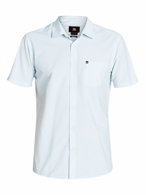 0 Everyday Stripe Short Sleeve Shirt  EQYWT03097 Quiksilver