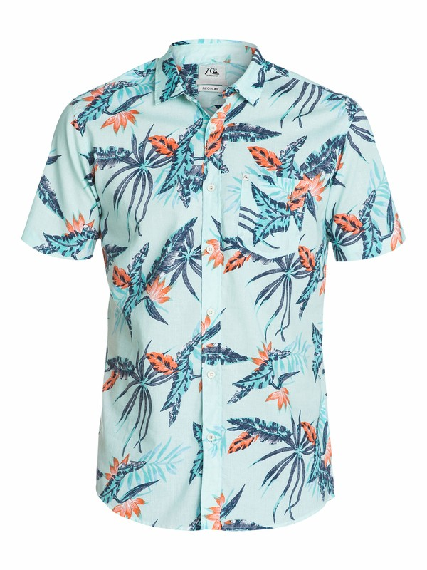 0 Everyday Print Short Sleeve Shirt  EQYWT03098 Quiksilver