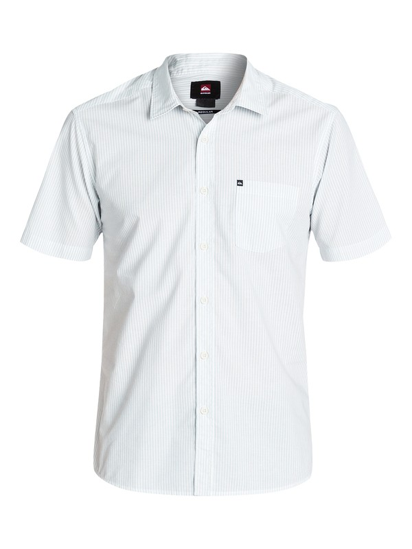0 Everyday Stripe Short Sleeve Regular Fit Shirt  EQYWT03146 Quiksilver