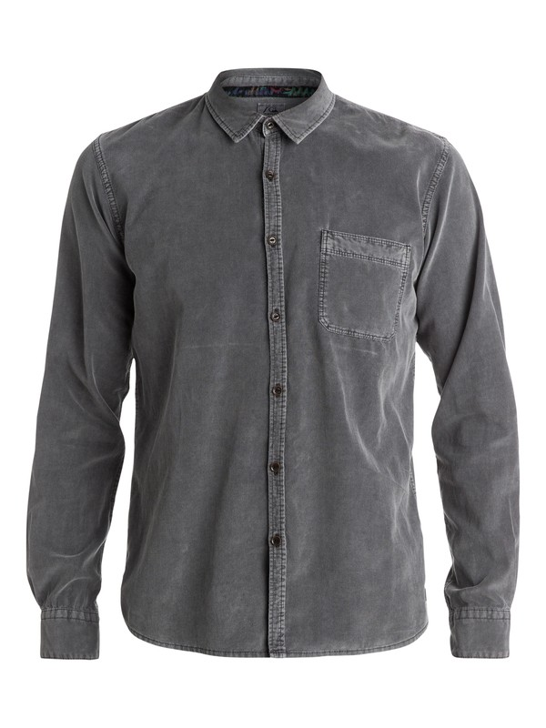 0 Night Hit Long Sleeve Slim Fit Shirt  EQYWT03176 Quiksilver