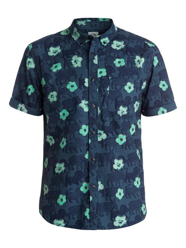 0 Stampede Short Sleeve Modern Fit Shirt  EQYWT03180 Quiksilver