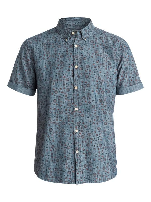 0 Micro Flowar Short Sleeve Modern Fit Shirt  EQYWT03181 Quiksilver