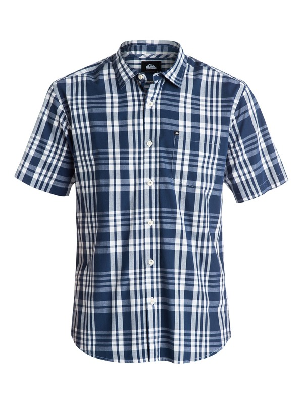 0 The Pat Pack Short Sleeve Shirt  EQYWT03182 Quiksilver