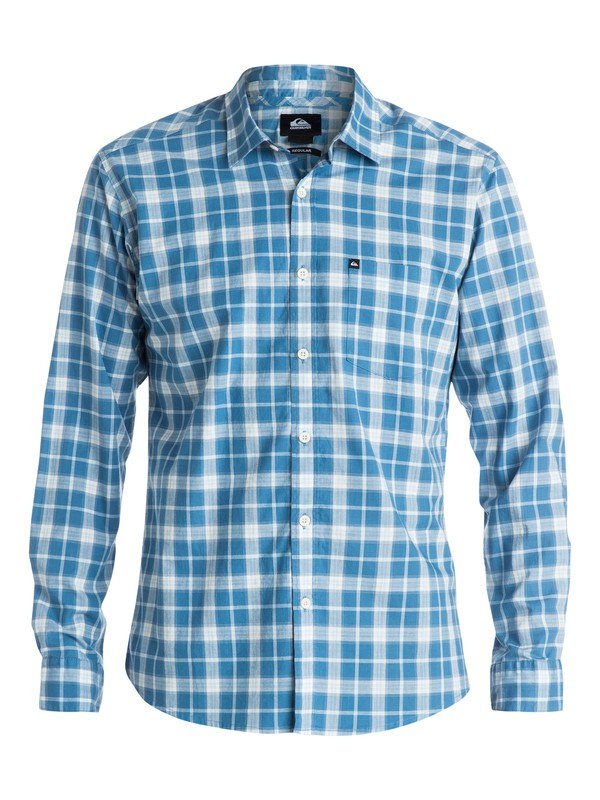 0 Everyday Check Long Sleeve Shirt  EQYWT03183 Quiksilver