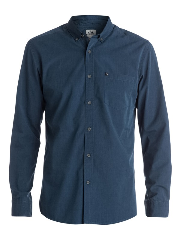 0 Widen Perennial Long Sleeve Modern Fit Shirt  EQYWT03187 Quiksilver