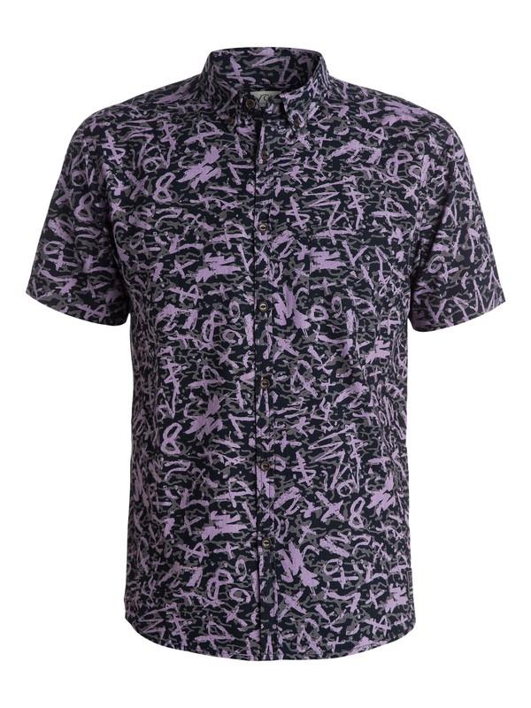 0 Ghetto Boogy Shirt - Chemise manches courtes  EQYWT03192 Quiksilver