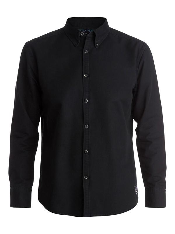 0 Gunshots Long Sleeve Modern Fit Shirt  EQYWT03195 Quiksilver
