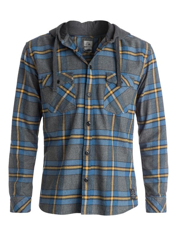 0 Rockyfist Long Sleeve Hooded Shirt  EQYWT03200 Quiksilver