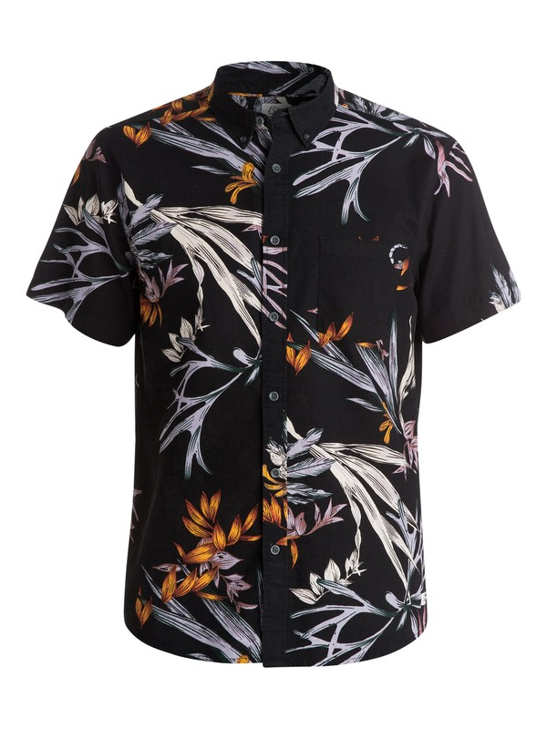 0 Scorpian Forest Shirt - Chemise manches courtes  EQYWT03202 Quiksilver